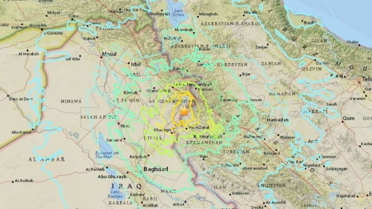 """A 7.3-magnitude earthquake in the Middle East jolted """"the Iraq-Iran border region"""" on Sunday, the Twitter account for U.S. Geological Survey (USGS) earthquake alerts tweeted."""