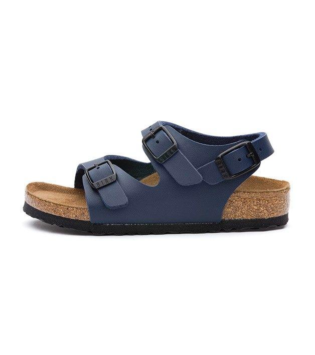 Birkenstock Roma Blue, Kids Footwear, www.oishi-m.com