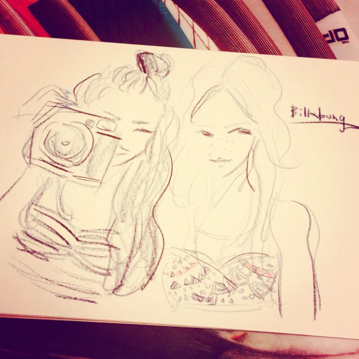 #billabong #fashion #illustration