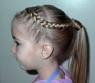 Prime 1000 Ideas About Little Girl Ponytails On Pinterest Two Strand Hairstyles For Women Draintrainus