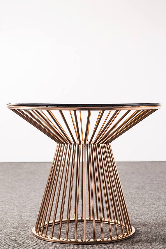 28 Table Base For Round Dining Legs Metal Custom Gold From Ivadecorstudio