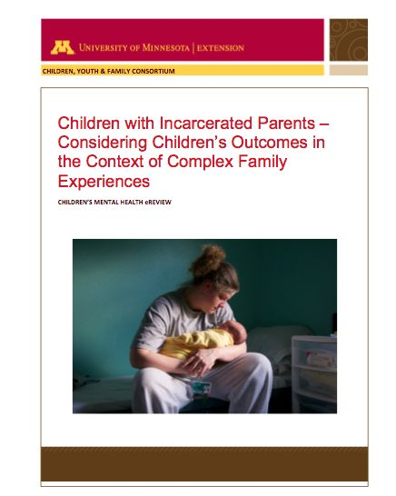 the effect of parental incarceration Effects of parental incarceration on children: cross-national comparitive studies (psychology, crime, and justice) [joseph murray, david farrington, catrien cjh bijleveld, and rolf loeber] on amazoncom free shipping on qualifying offers this is the most comprehensive book ever published on the topic of children whose parents have been.