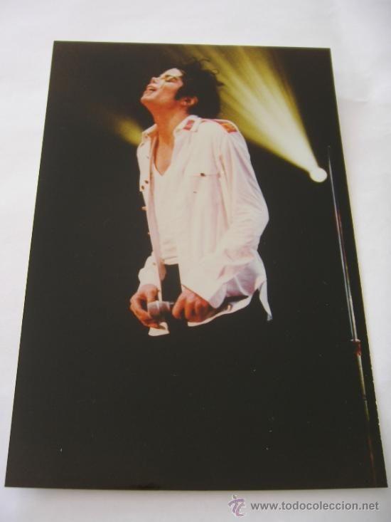 MICHAEL JACKSON FOTO ORIGINAL EN CONCIERTO EN EL DANGEROUS TOUR