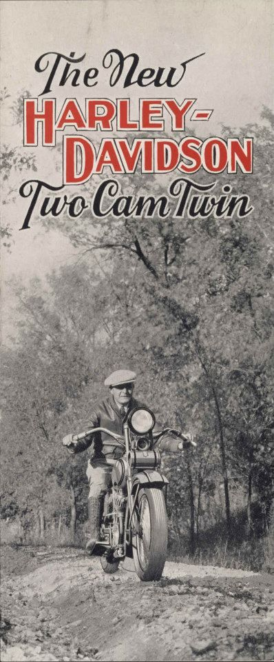 This Day in Harley-Davidson History – October 24, 1927 – Harley-Davidson announced production of the Two-Cam motorcycle as a regular model.