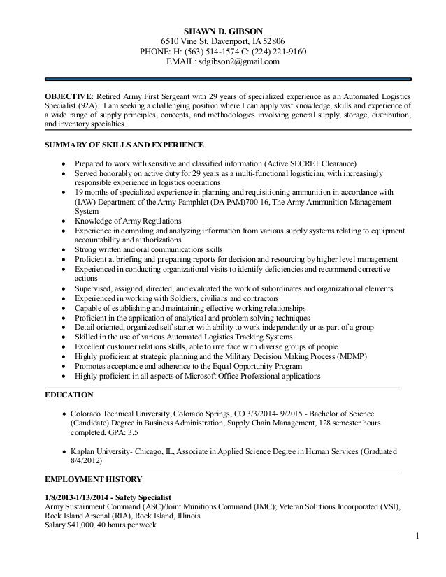 92A Resume Examples Resume Examples Pinterest Sample resume