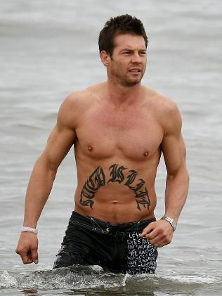 Ben Cousins ... Such is life. Bogtastic!