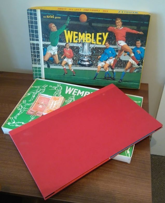 Wembley Vintage Board Game by Ariel Games Superb Football Soccer