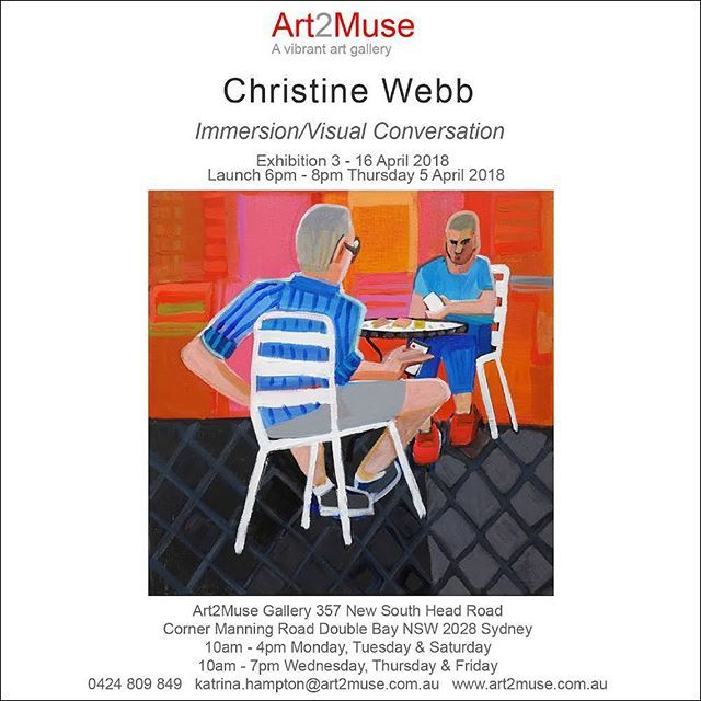 Invitations are going out for my upcoming solo exhibition @art2muse  Double Bay Sydney. Please contact the gallery for an early peek at a catalogue or dm me.