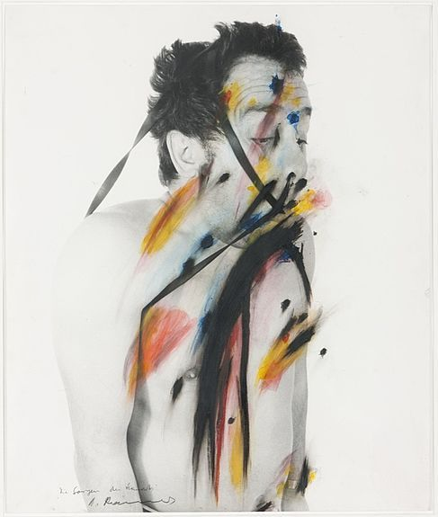 Arnulf Rainer - Face Farces (body Language) - 58661, curated by Michael Paul Young on Buamai.