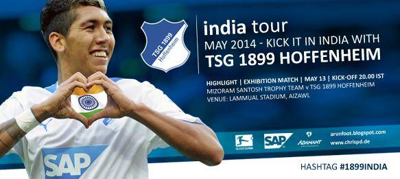 #1899India: #Bundesliga side TSG 1899 #Hoffenheim to tour #India