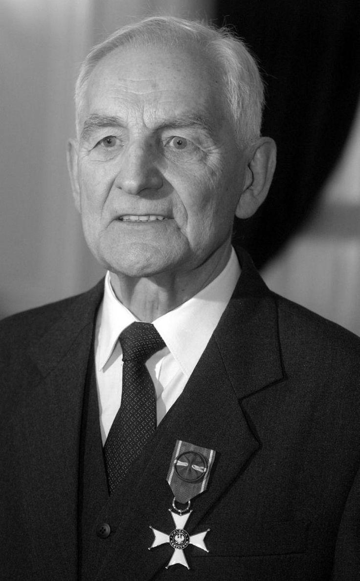 Tadeusz Smreczyński, były więzień niemieckich obozów. Fot. PAP/P. Kula