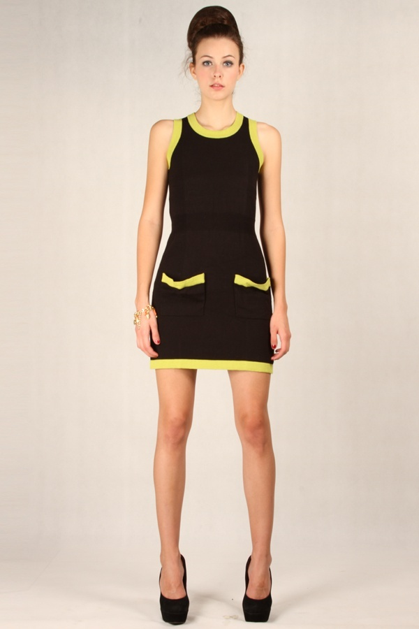 Marina Dress Black www.pinkemma.com