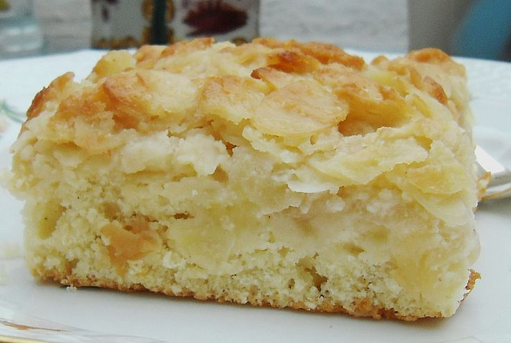 Apfel - Mandel - Kuchen mit Eierlikör