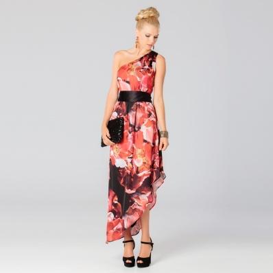 Langhem Adored Rose Print Maxi Dress