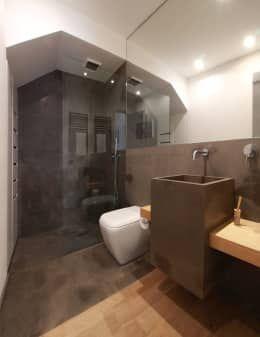 Baños de estilo minimalista por studioSAL_14