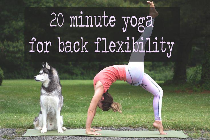 20 Minute Yoga for Back Flexibility