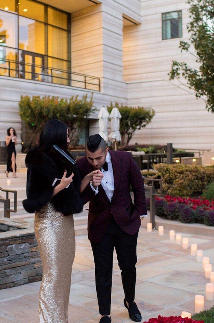 Romantic Marriage Proposal Surprise Engagement Party Surprise