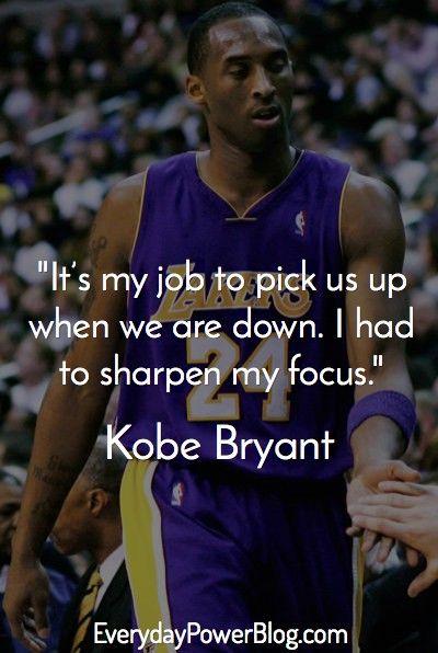 Kobe Bryant Quotes 144 Best Kobe Bryant Images On Pinterest  Basketball Kobe Bryant .