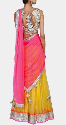 Amrita Thakur https://www.facebook.com/pages/Amrita-Thakur/112558018840657 via CitiGirlScene: The Secret to Wearing Lehengas