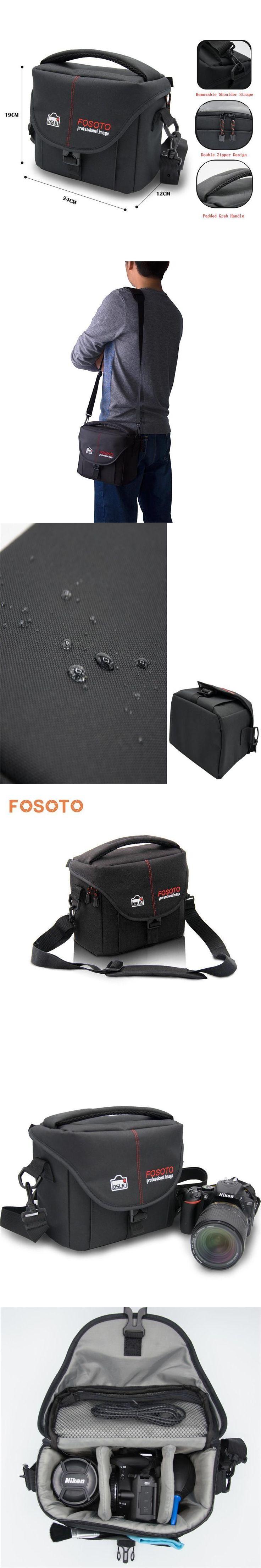 fosoto DSLR Camera Bag Case Cover Video Photo Digital photography Shoulder Nylon Bags For Dslr Sony Canon Nikon D700 D300 D200