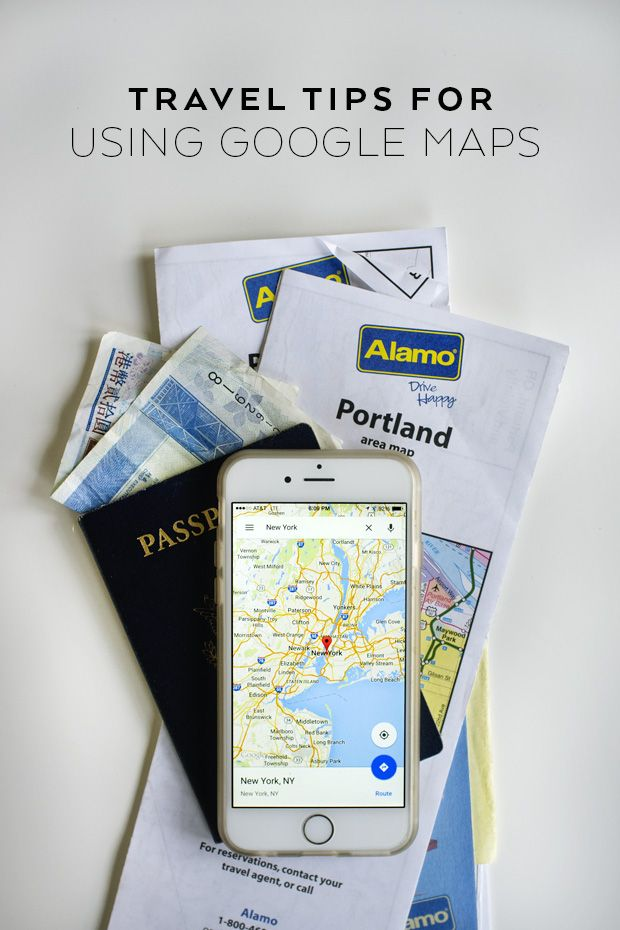 Tips and tricks for using Google Maps while traveling (or in your own city)!  Travel | Travel Tips