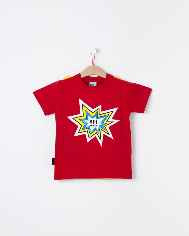 Super Hero - short sleeve / Super Herói - manga curta