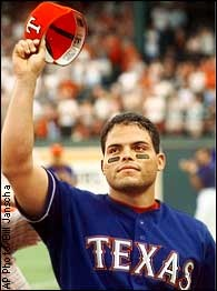 """greatest player to ever catch & my childhood crush - """"pudge"""" rodriguez"""