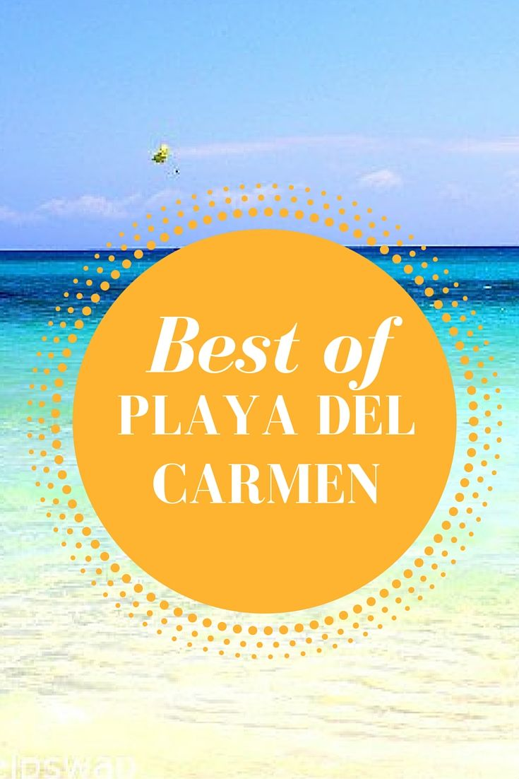Read about our favourite places to eat, drink and sleep in Playa Del Carmen