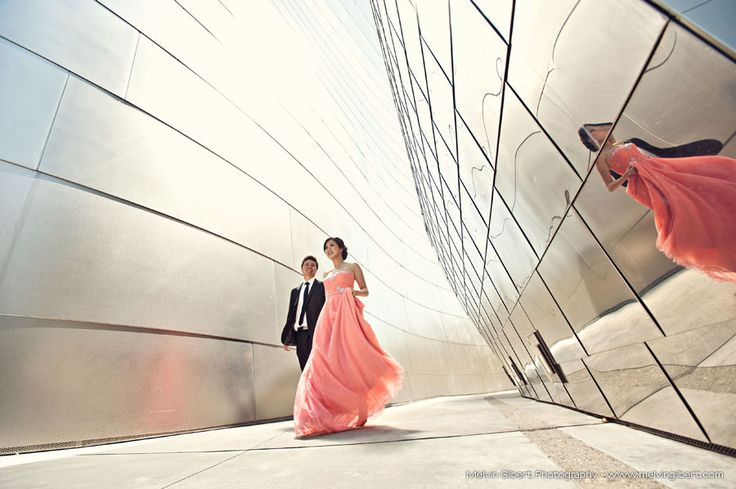 walt disney concert hall engagement photography ~ Photo by www.melvingilbert.com