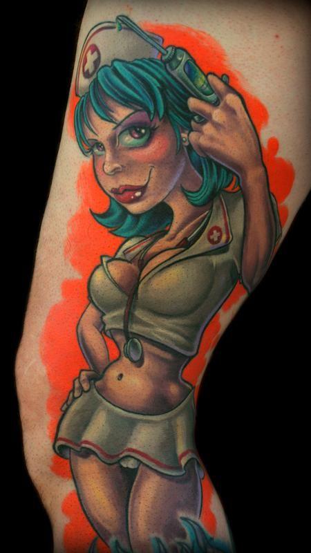 Tim Senecal - Hellllllllllooooooo Nurse #tattoo