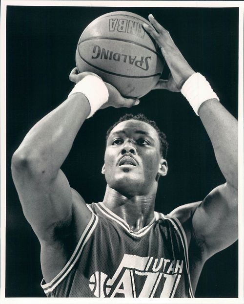 "Karl ""The Mailman"" Malone #NBALegend"