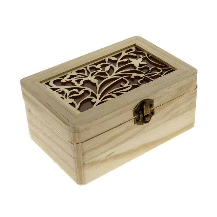 Compra nuestros productos a precios mini Caja Primavera de madera para decorar - 17 x 11,5 x 7,5 cm - Entrega rápida, gratuita a partir de 89 € !