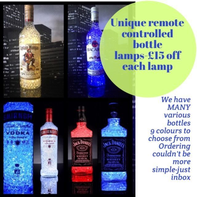 Remote controlled crystal gel lamps | in Radcliffe, Manchester | Gumtree