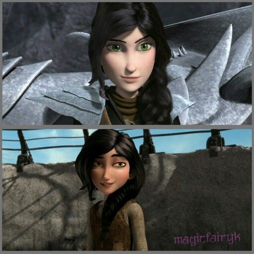 Heather from Dreamworks Dragons: Race to the Edge & Defenders of Berk