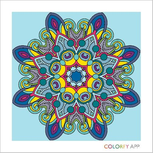 COLORFY Free Coloring App