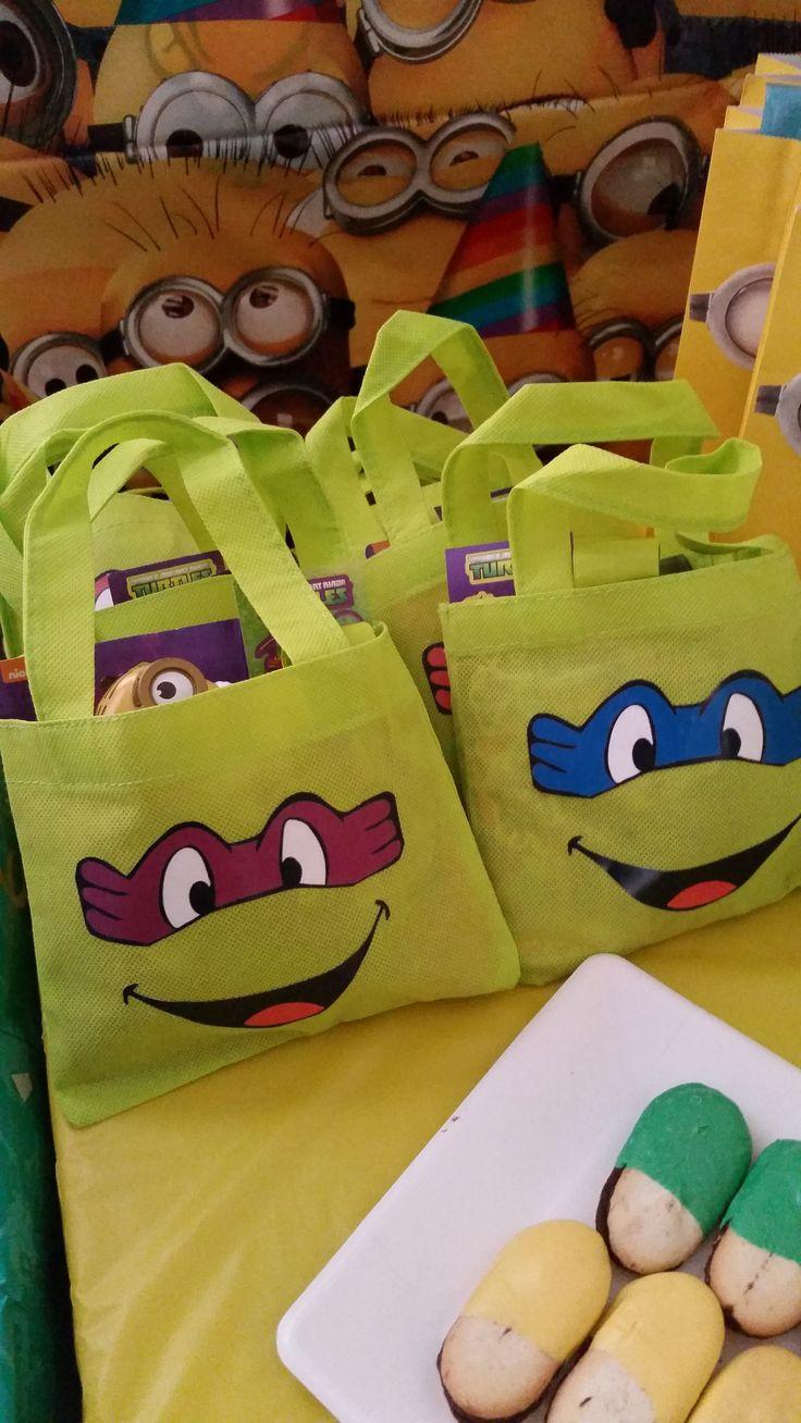 Teenage Mutant Ninja Turtle Favor Bags