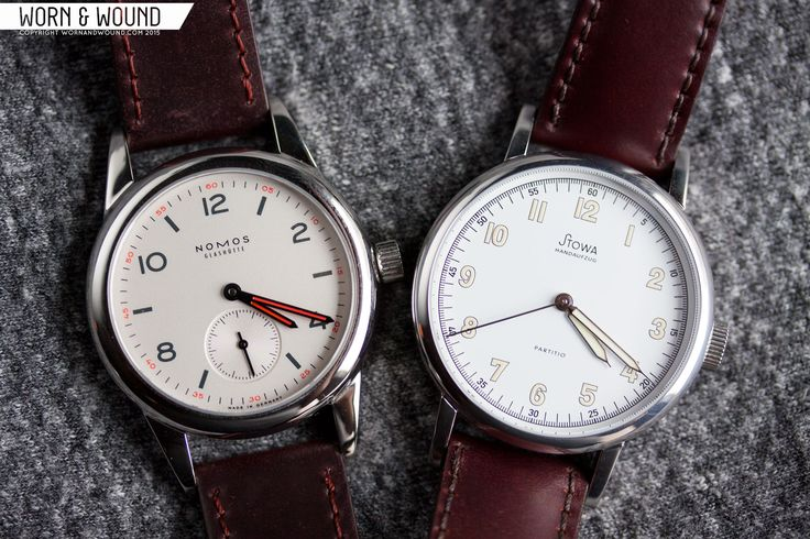 Side-by-Side: Nomos Club + Stowa Partitio - worn&wound