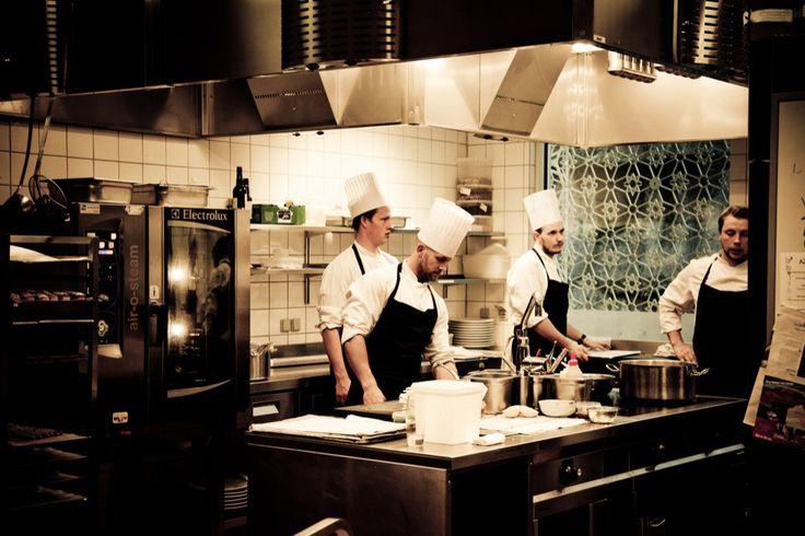 Restaurant fotografering til erhvervsbladet