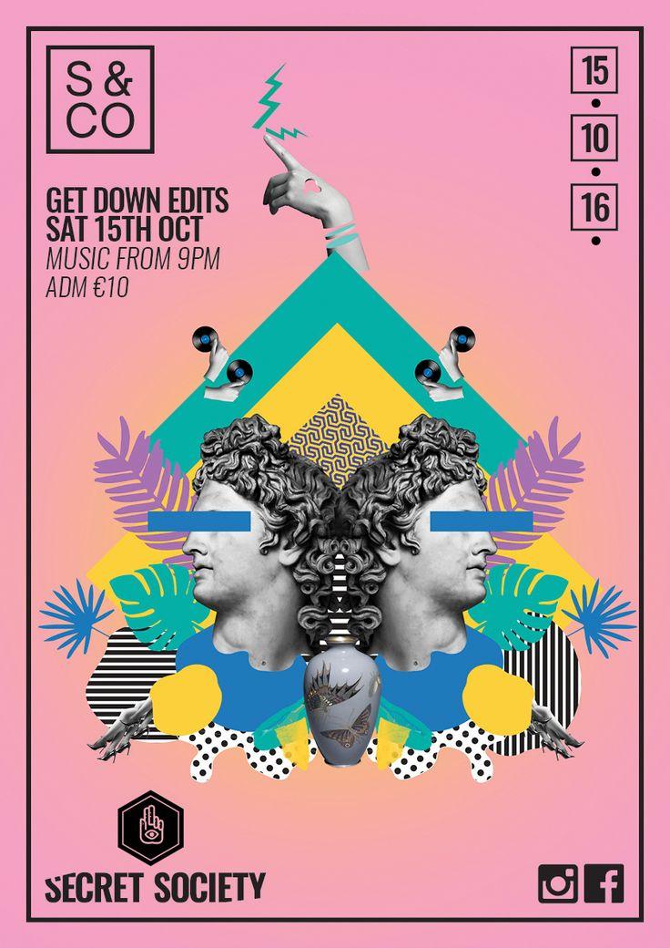httpswwwbehancenetgallery43262475secret graphic design postersposter - Poster Designs Ideas