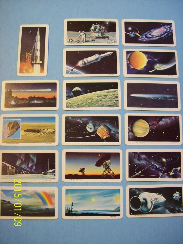 Selling 17 Red Rose/Blue Ribbon Tea/Brooke Bond Cards series 12 The Space Age!