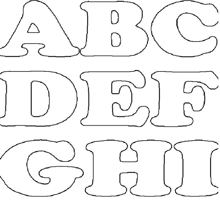 Oficina artes da adilma moldes de letras teis para usar for Moldes para pavimentos de hormigon