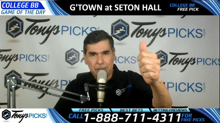 Georgetown Hoyas vs. Seton Hall Pirates Free NCAA Basketball Picks and P...