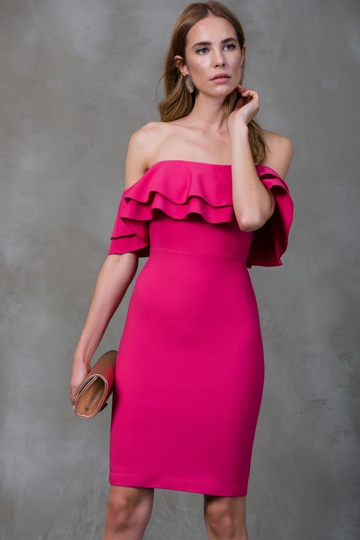 Pembe Elbise MLWSS16KR1559 TRENDYOLMİLLA | Trendyol