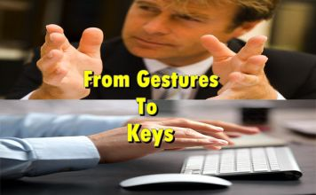 From Gestures To Keys