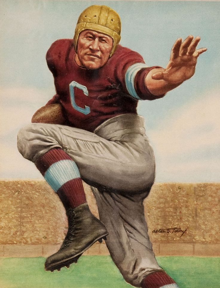 a biography of james francis thorpe an american football player Thorpe excelled at every sport he played he competed in track and field, football , baseball, lacrosse, hockey, golf, swimming, bowling, and wrestling he even.