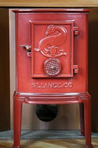Vintage 1979 Lange Co Danish Cast Iron Stove Cast Iron