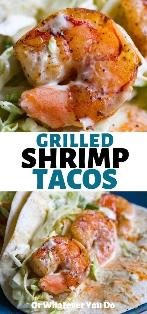 Diese köstlichen gegrillten Garnelen-Tacos von Traeger brauchen etwa 10 Minuten, um …   – MUST MAKE Recipes!