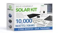 10140 Watt (10kW) DIY Solar Panel Kit w/String Inverter