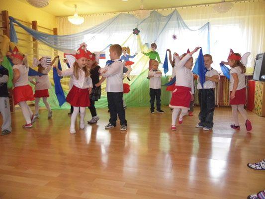 Dance festival in kindergarten