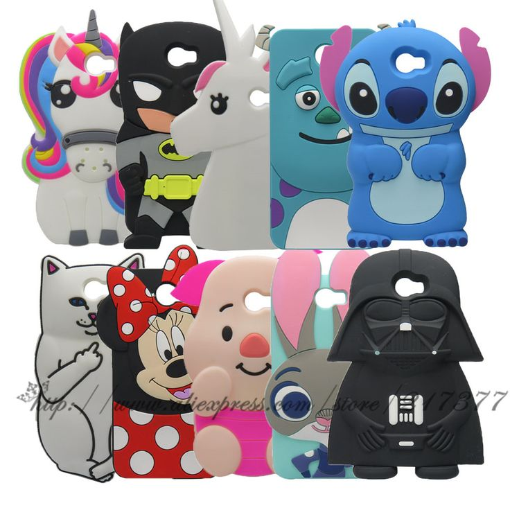Cute Cartoon Cover Case For Huawei Y5II / Y5 II 2 Back Cover For Huawei Y5 ii 3D Stitch Batman unicorn Sulley Cat Silicone case